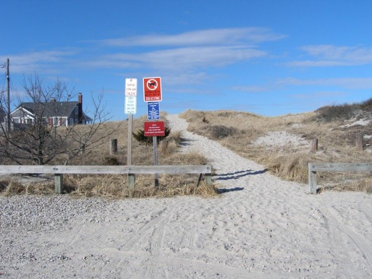 Public Pathway To East Sandwich Beach